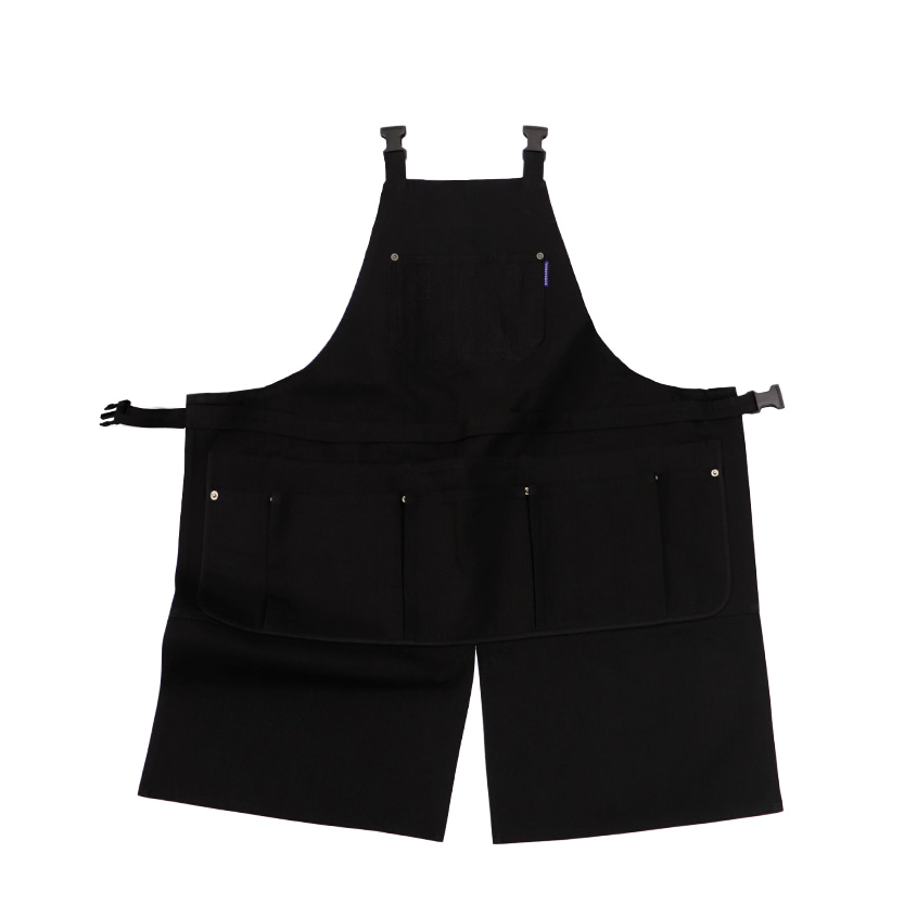 ALL KIND APRON (BLACK DENIM)