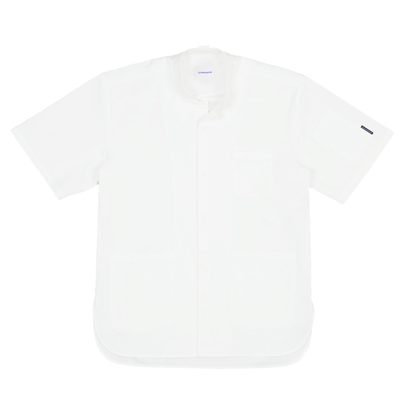 CHEF SHIRTS : SHORT SLEEVES (WHITE)